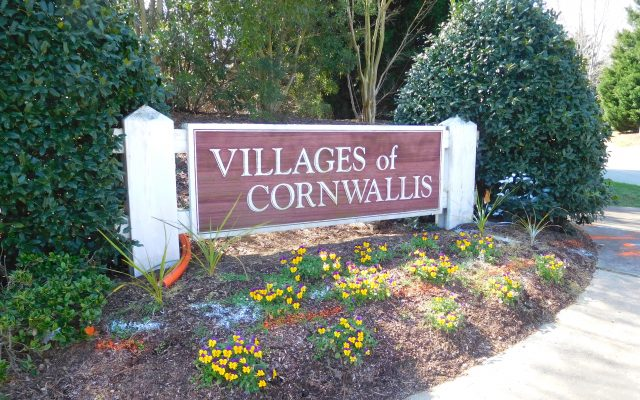 Villages of Cornwallis – Durham NC